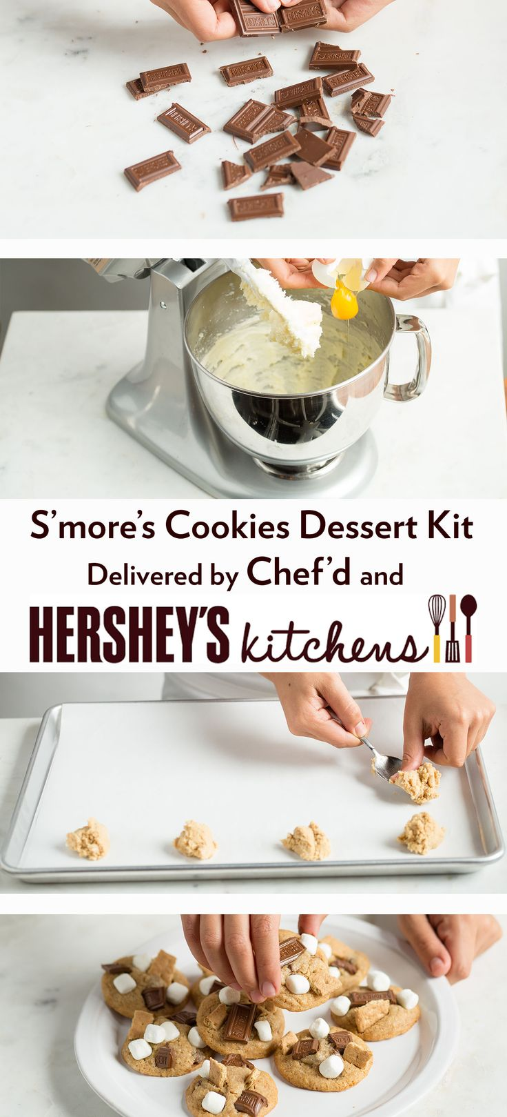 Elegant Su0027moreu0027s Cookies From HERSHEYu0027S Kitchens U0026 Chefu0027d! Order This Dessert Kit
