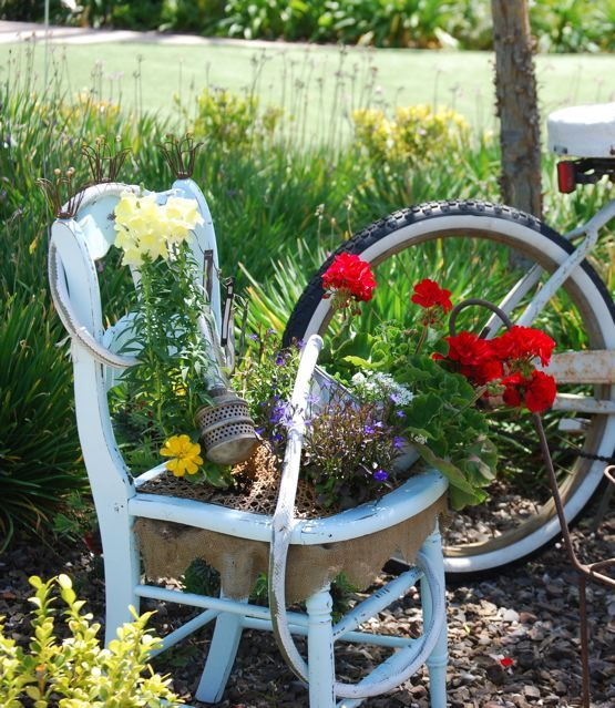 Planters Chairs: 145 Best Chair Garden Images On Pinterest
