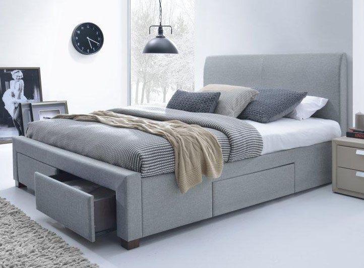 #sypialnia, #meblesypialniane, #łóżko, #bed Internetowy sklep Meblowy Guru do stylowej sypialni poleca dwuosobowe łóżko Modena o powierzchni spania 160x200cm.