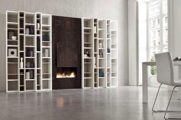 Die moderne Wohnwand im Wohnzimmer  Exklusive Ideen von Dall'Agnese