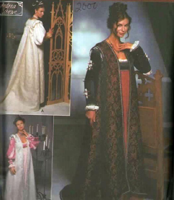 45 besten Historical Costume Sewing Patterns Bilder auf Pinterest ...