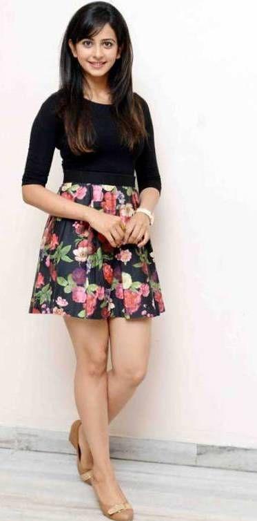 Rakul Preet Singh hot in mini skirt