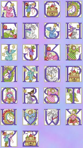 Fairytale ABC The World of Cross Stitching Issue 152 July 2009 Saved