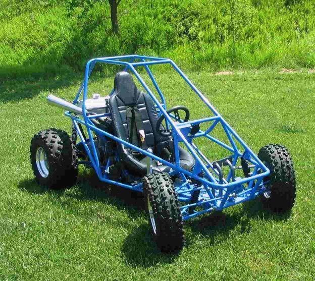 650 Kawasaki Go-cart