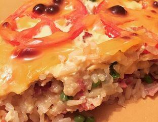 La recette d'un plat unique à base de riz : le gratin de riz facile à réaliser et excellent à déguster #riz #cuisine #recette #food