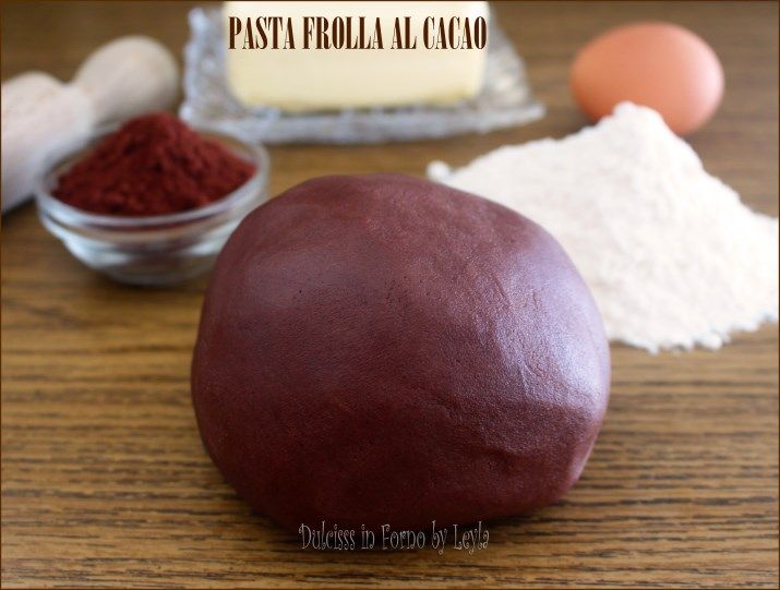 Pasta frolla al cacao di Luca Montersino