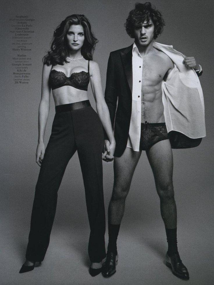"Über Fashion Marketing: Marlon Teixeira e Stephanie Seymour em ""A Man and A Woman"""