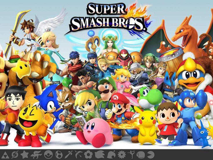 ¿Creen ustedes que el nueva entrega de Super Smash Bros para Wii U puede coronarse como el mejor juego del año?