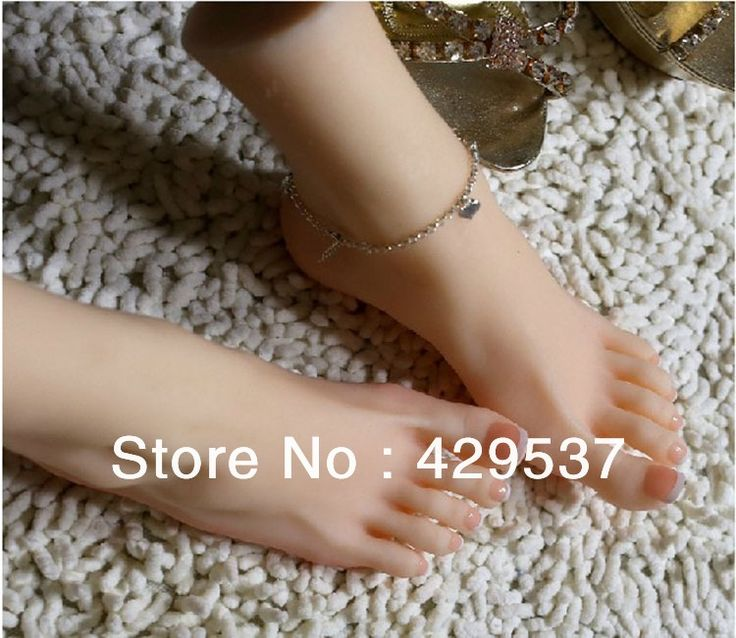 150.00$  Buy here - http://ali67w.worldwells.pw/go.php?t=1204748192 - Top Quality Fake Foot for Displaying, Foot Fetish Doll, Lifelike Female Feet,Full Silicone Love Doll,Silicone Female Feet,FT-001 150.00$