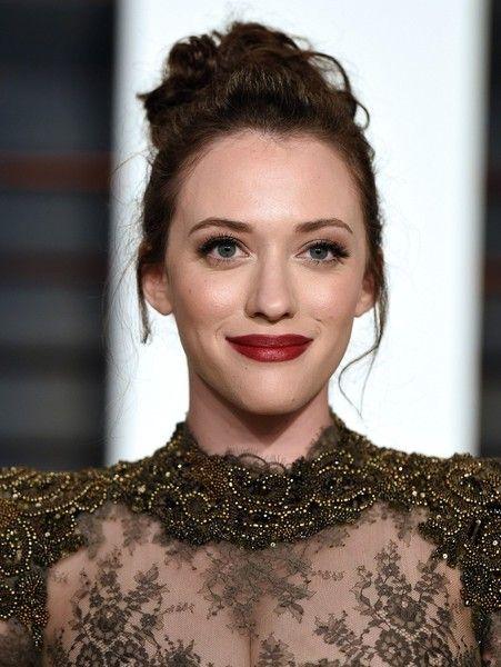 Kat Dennings Red Lipstick - Red Lipstick Lookbook - StyleBistro