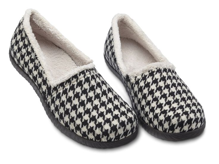 Great Way to Start the Day. Slip into slippers with arch support and wake up with happy feet. Find a wide selection at http://footsolutions.com/