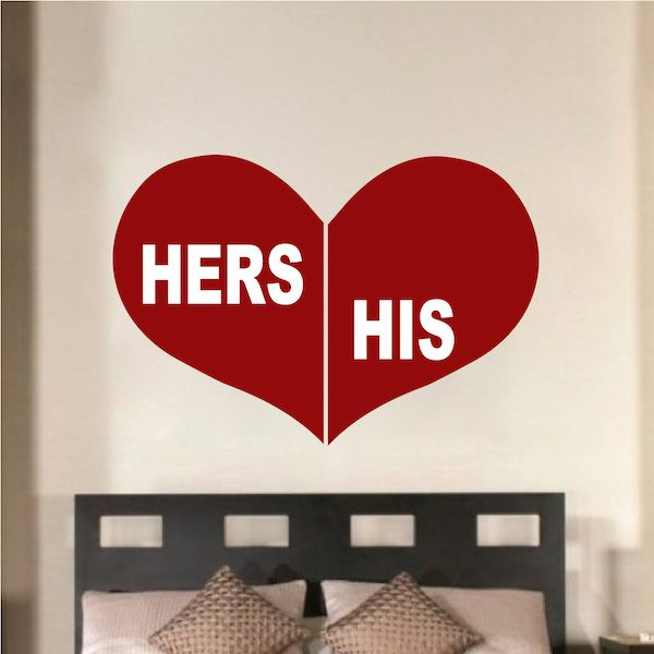 30 best Valentine's day decals images on Pinterest | Wall ...