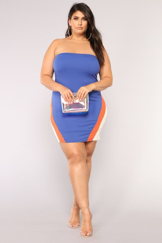 02f7b5eaa66 Heating Up Colorblock Dress - Royal in 2019