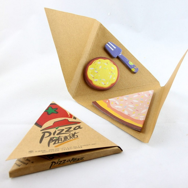 pizza sticky notes...whaaaa!?