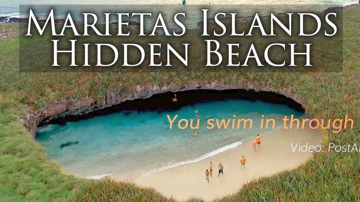 Impressive Beach, Marietas Islands and the Hidden Beach, close to Puerto... https://www.puertovallarta.net/what_to_do/marieta-islands