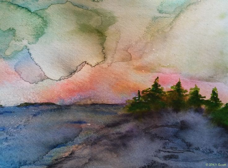 Storm's Comin' was inspired by thunderclouds rolling acrossLake Muskoka…