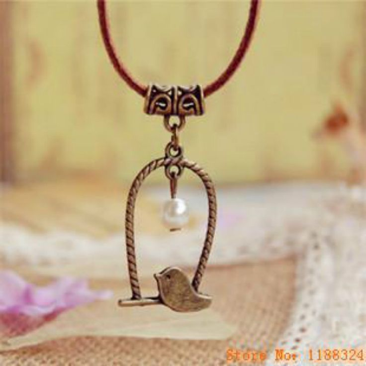 Aliexpress.com : Buy Flyleaf Handmade Retro Bronze Bird Imitation Pearl Long Leather chain necklaces & pendants for women Vintage Jewelry from Reliable pendants for women suppliers on Yiwu Anne Jewelry Factory