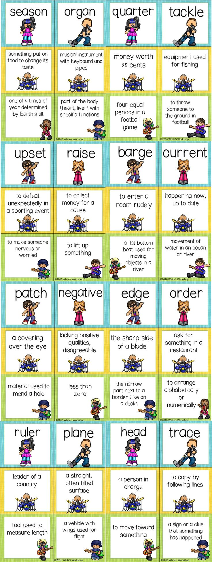 38 best multiple meaning words images on pinterest multiple multiple meaning word task cards posters and worksheet robcynllc Gallery