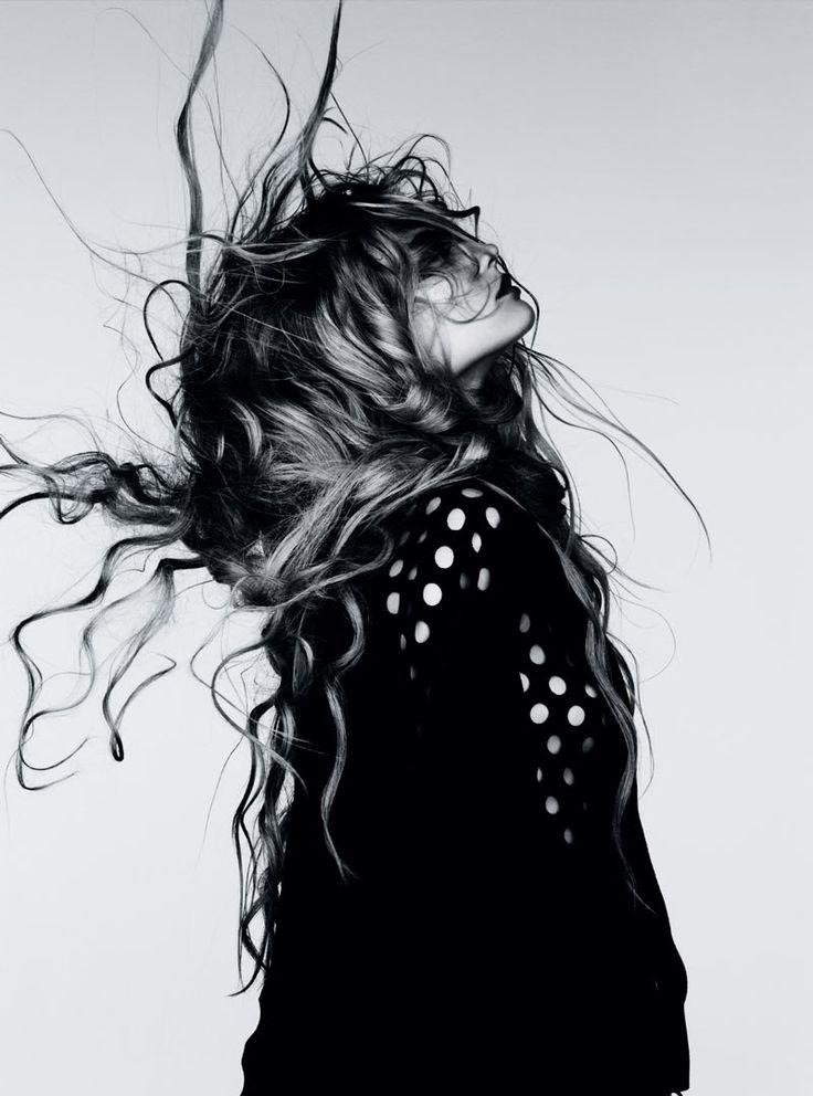 Vogue Germany January 2012. Photographer :: Ben Hassett.  Model :: Magdalena Frackowiak.  Hair :: Sam McKnight.  Makeup :: Polly Osmond.