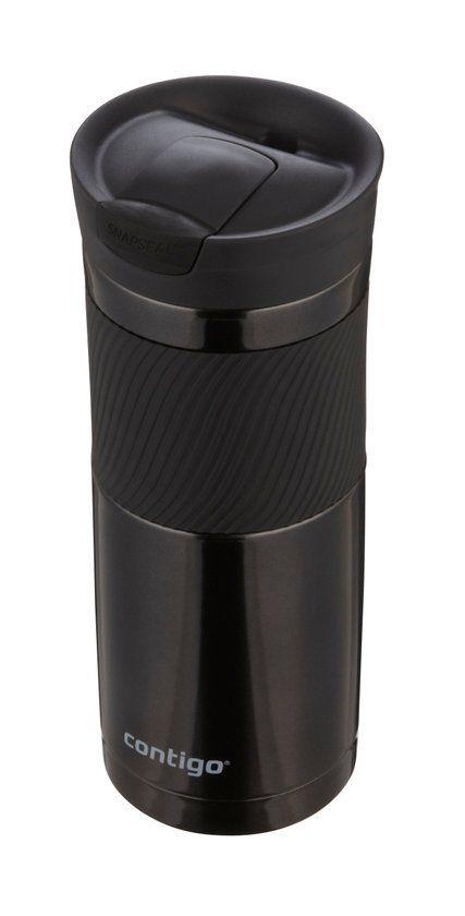 Contigo Byron Thermosbeker - Snapseal - 590 ml - Zwart