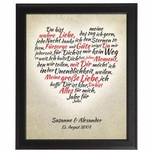 Romantisches Gedicht für den Valentinstag. Noch mehr Ideen gibt es auf www.Spaaz.de