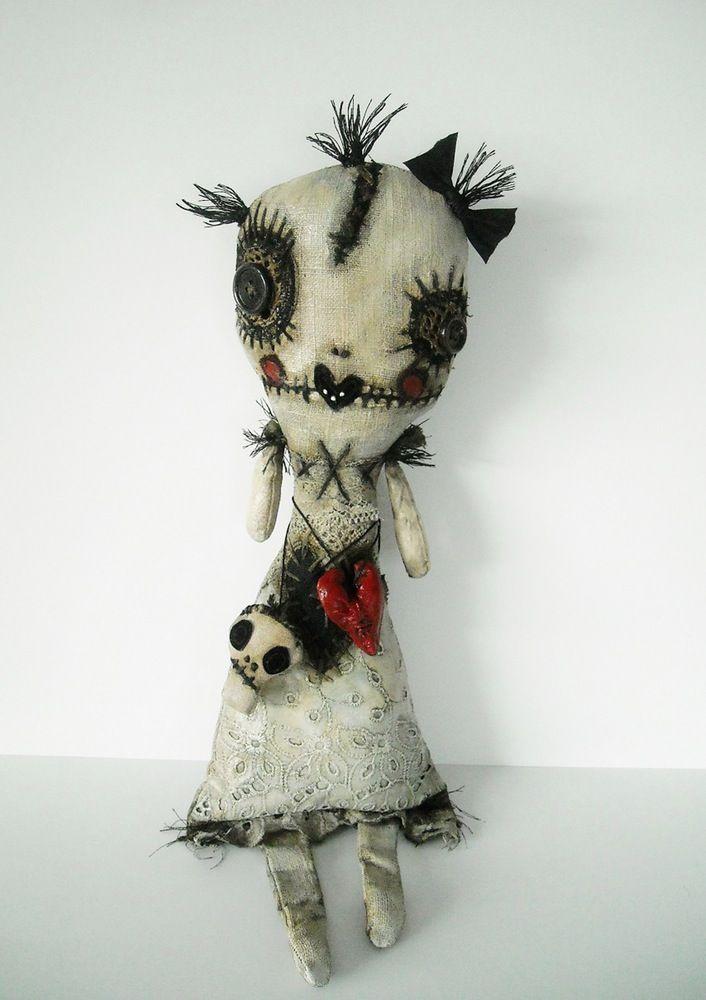 Monster Alvise - art doll by Junker Jane