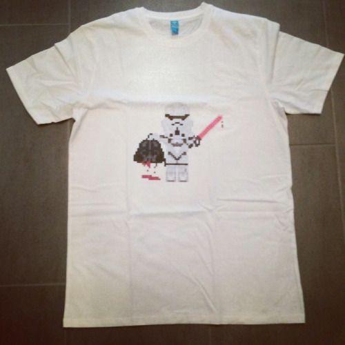 Pixel Star Wars shirt for a friend