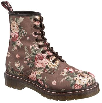 Shop for Womens Dr. Martens 8 Eye Vintage Boot in Brown at