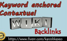 give 3000 Wiki BACKLINKS it is Keyword Anchored, Contextual