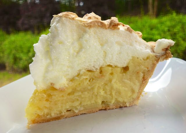 Coconut Meringue Pie | Plain Chicken