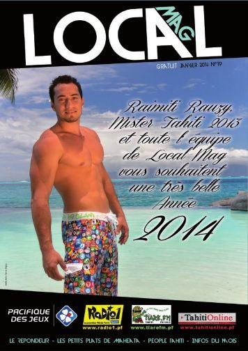 Local Mag (Tahiti) - Mister Tahiti