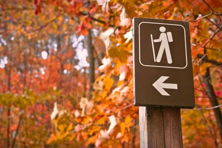 A few helpful tips for your Fall hiking. Like how to waterproof boots, remember the ten essentials and more