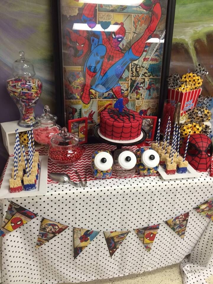 Spiderman Party Ideas Spiderman Party Spiderman