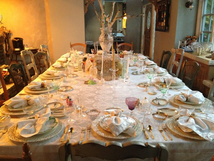 Table decor home decorating thanksgiving fine china Cheap thanksgiving table setting ideas