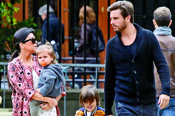 Kourtney Kardashian and Scott Disick Pictures – Celebrity Gossip News | OK! Magazine