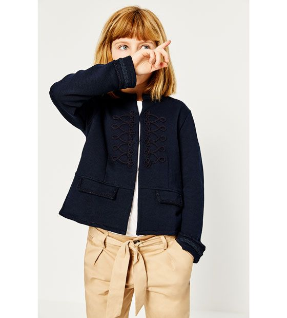 ZARA - KIDS - TROUSERS WITH BOW BELT