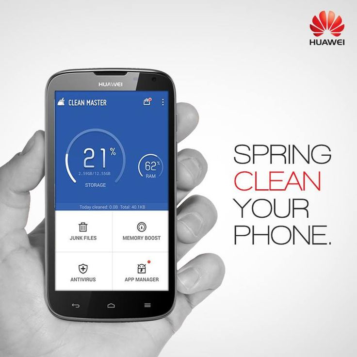 Clean up, speed up and revive your #android #smartphone with the latest android app – Clean Master. #CleanMaster #Huawei #app