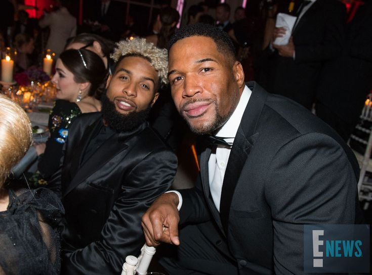 Odell Beckham Jr. & Michael Strahan from Met Gala 2016: Inside the Exclusive Event  New York Giants