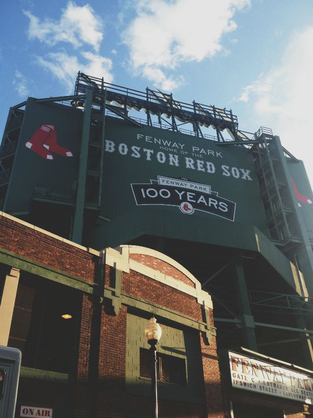 Fenway Park in Boston, MA.There is NO other experience like a Red Sox game at Fenway.
