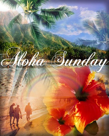 Image result for happy sunday in hawaiian