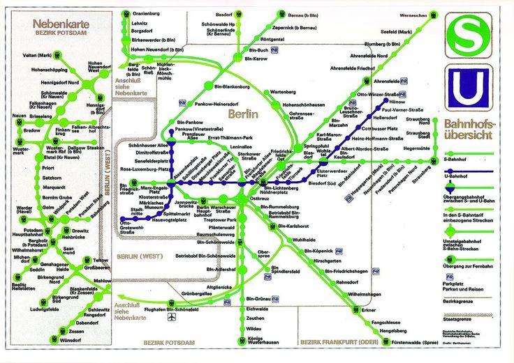 The Best Le Mur De Berlin Ideas On Pinterest Mur De Berlin - Berlin map east west