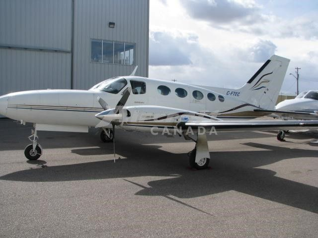 1979 Cessna 414A for sale in Calgary, AB Canada => http://www.airplanemart.com/aircraft-for-sale/Multi-Engine-Piston/1979-Cessna-414A/11645/