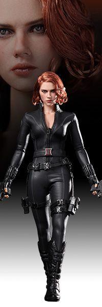 Black Widow Sixth Scale Figure - The Avengers