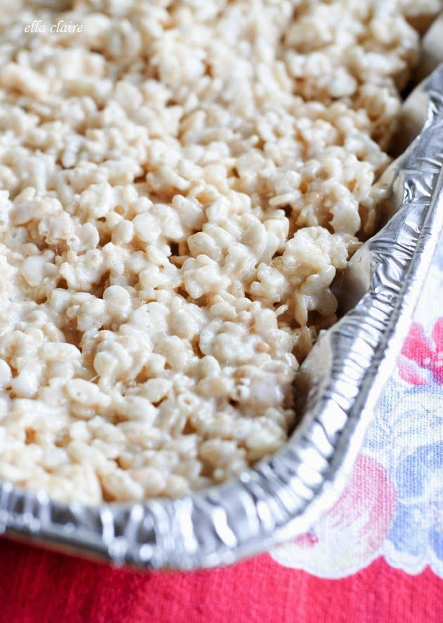 Tips for the Perfect Crispy Rice Treats | Recipe Included | Ella Claire