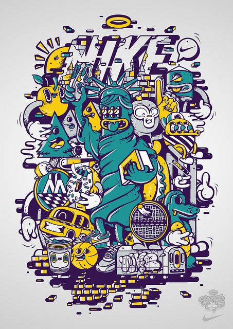 Nike x Dxtr / Fresh Liberty by DXTR - The Weird, via Flickr