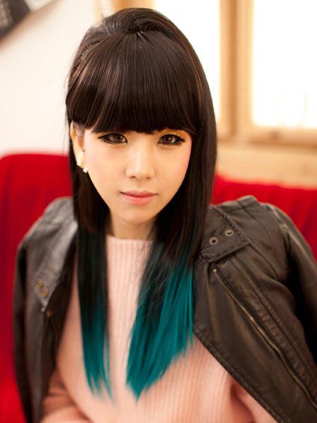 www.vougewigsale.com  Ocean Blue Hair Exensions fashion