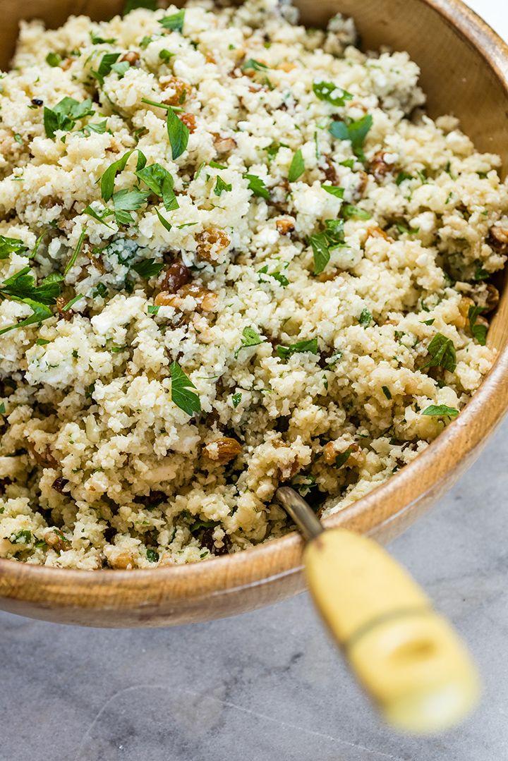 Mediterranean-Style Cauliflower Rice