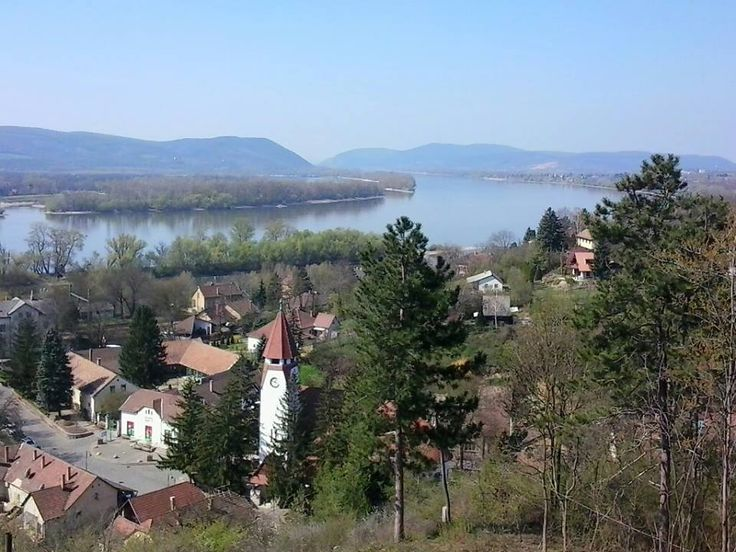 River Danube - nice view from Zebegény