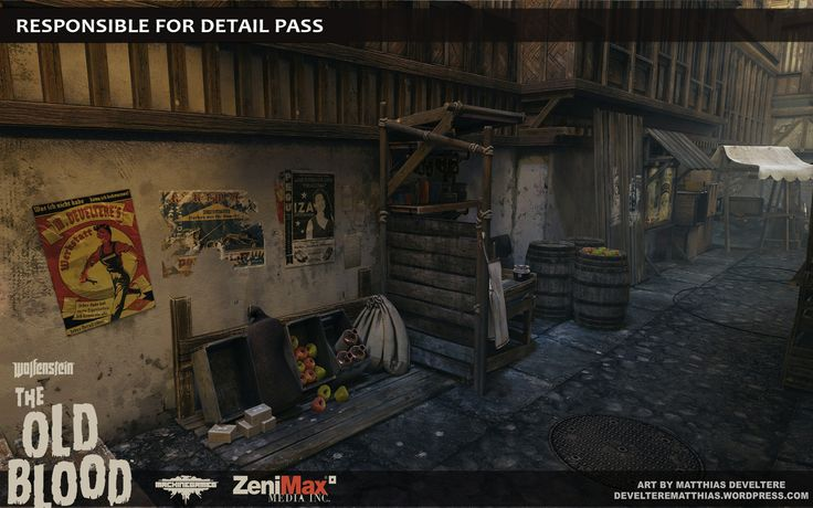 Wolfenstein The Old Blood artdump Part 2 Polycount Forum