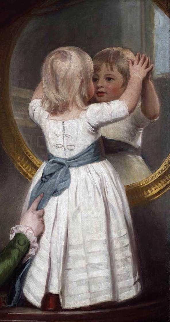 ROMNEY, George -Portrait of Lady Anne Barbara Russell